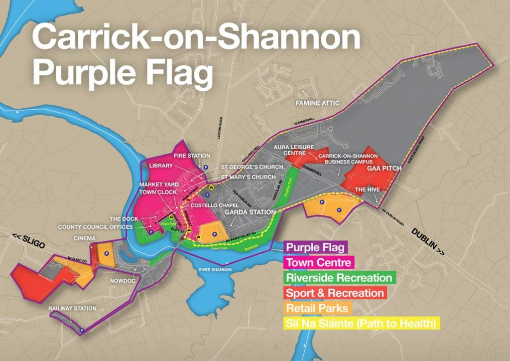 Purple Flag Area Map