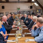 Chamber hosts business Lunch for the Mexican Ambassador to Ireland, His Excellency Carlos Garcia de Alba, with representatives from the local business community, LCC, Leitrim Tourism, Chamber Officers and Gardai.